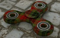 Scottish handspinner