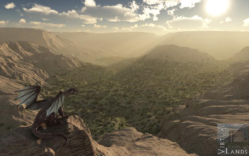 Wyrm valley - Virtual Lands 3d