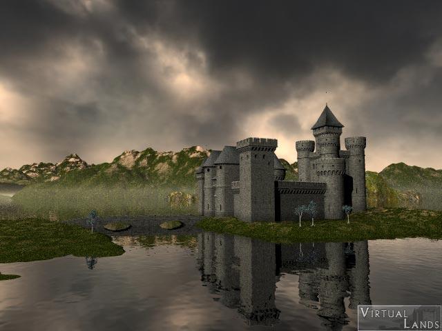 Castle: Bryce HDRI background test