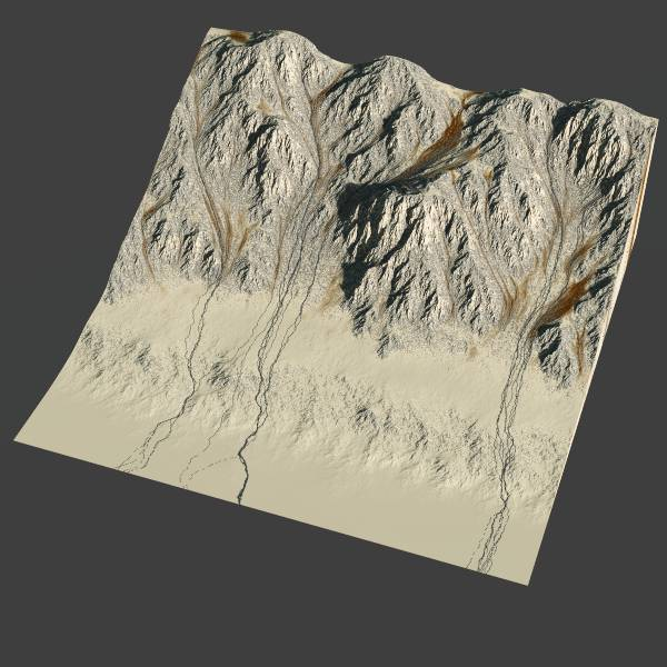 Tyrol - 3d heightfield
